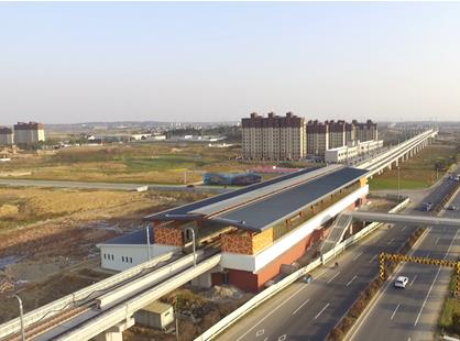 地铁S1号线南延线石湫站-碧桂园 S1秦淮世家 地铁口上城市新中心图片