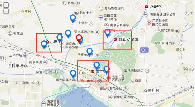 距离地铁3号线小市站约500米,距离地铁1号线红山动物园站约800米,占据