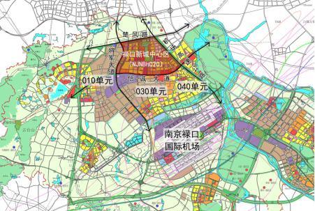 图片资料:空港新城控制规划图-全城热议大空港,新时代即将开启