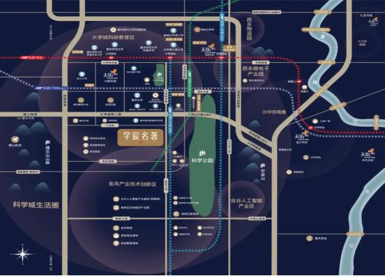 龙湖总价125万洋房|科学城交通大爆发,重庆西区正在崛起!中国网地产