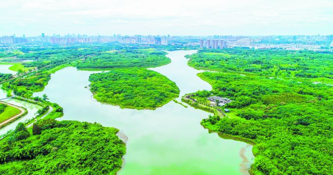湿润天府 诗意栖居 成都探索湿地保护新路子_中国网地产