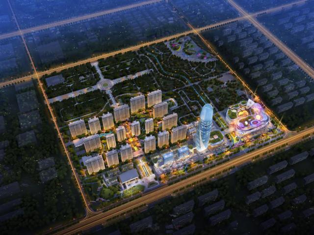 提升城市功能品质,济南宝能城为产城融合模式赋予更多想象_中国网地产