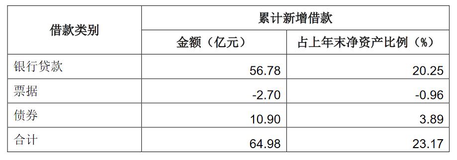 濱江集團:當年累計新增64.98億借款 占上年末凈資產23.17%_中國網地產