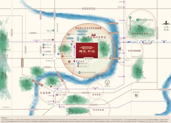 登场即主场,建发和玺 | 国韵别墅首次亮相渝州_中国网地产