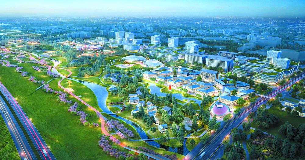与环城生态公园无边融合 芙蓉美谷未来公园社区今年开建_中国网地产