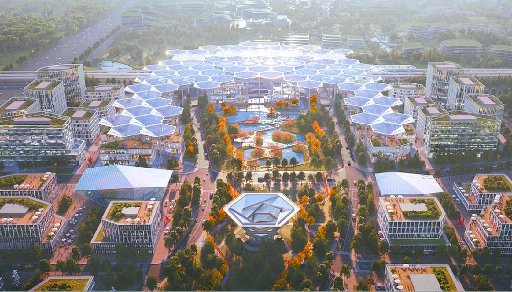 成都未来科技城环形社区及福田TOD核心区启动全面建设_中国网地产