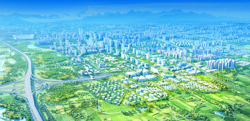公园与生活有机融合 白鹭湾未来公园社区今年开建_中国网地产