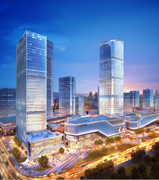 商业建设提速 招商有序推进  两江国际商务中心千亿商圈蓄势腾飞_中国网地产