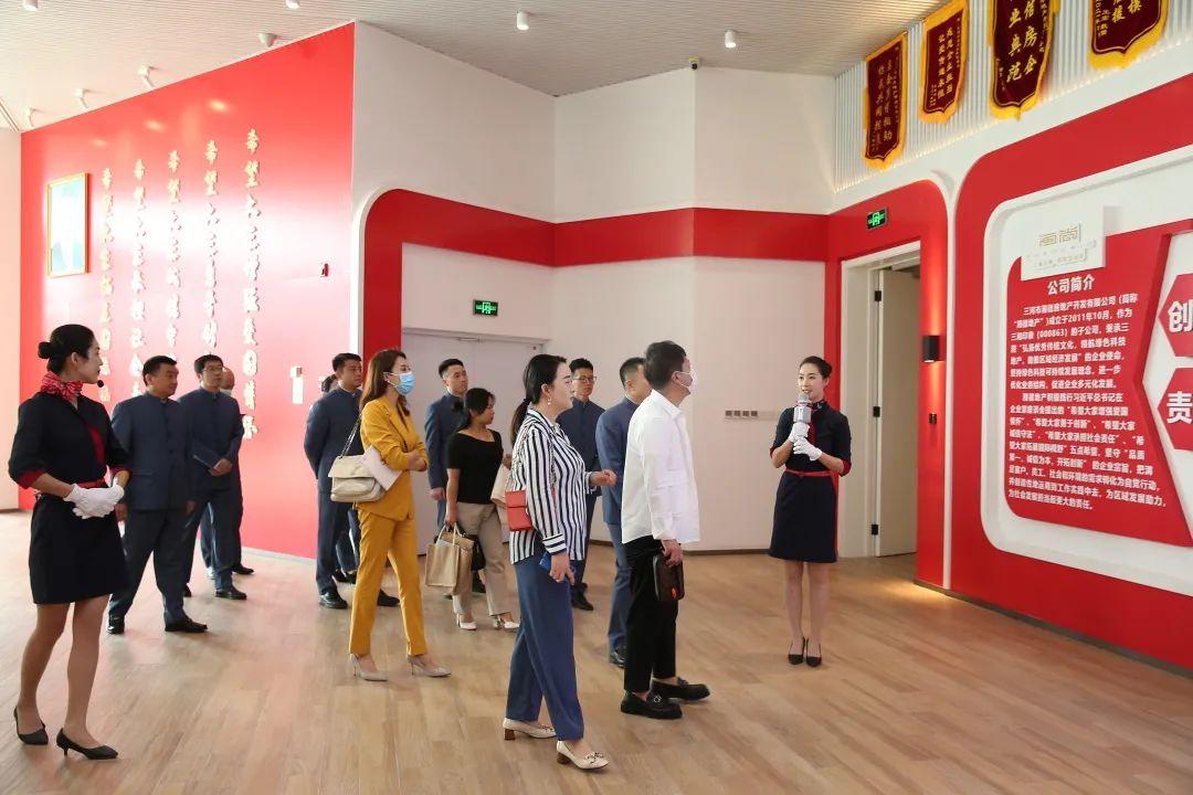 热烈欢迎CCTV-9《中国品牌档案》栏目组走进三湘印象•森林海尚城_中国网地产