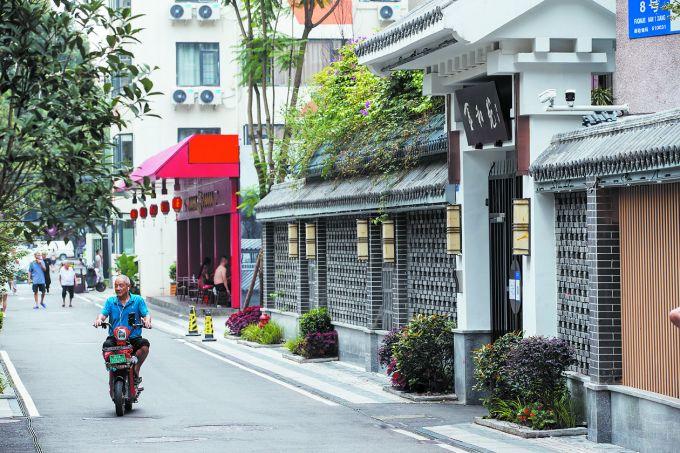 西南街社区变身城市观光新景点_中国网地产
