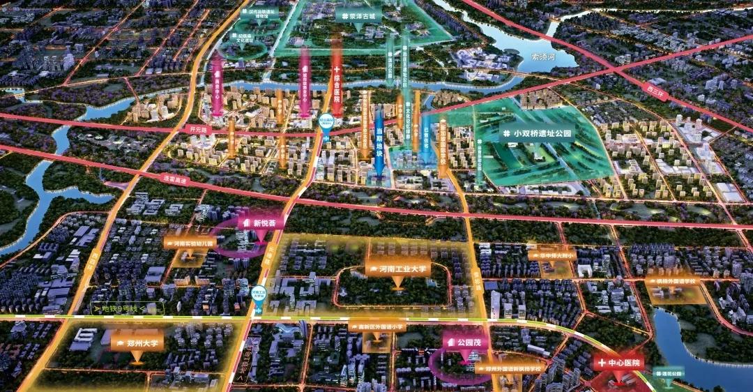 这可能是今后十年 郑州最值得期待的大盘之一_中国网地产